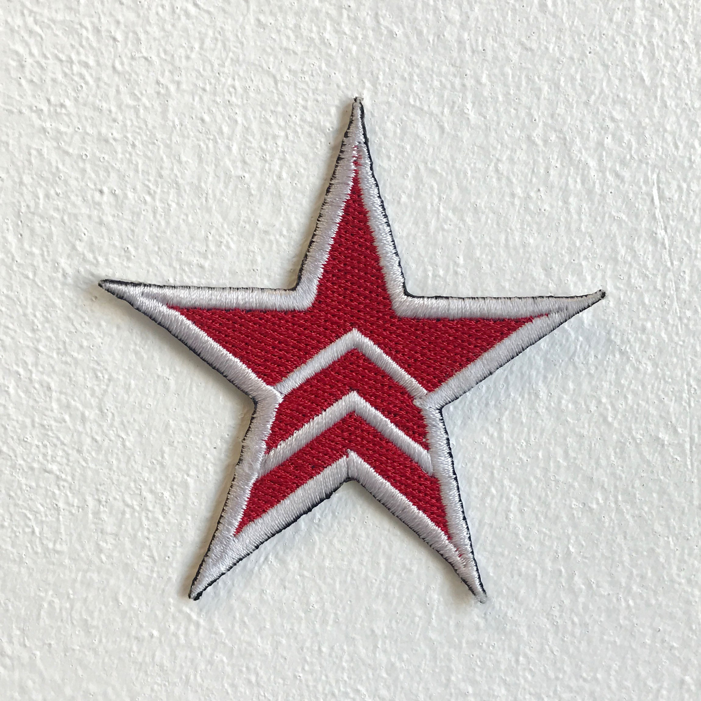 Military and Army Star Badge Iron Sew on Embroidered Patch