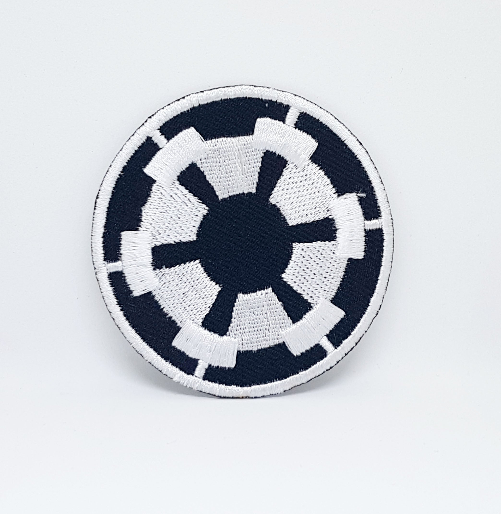 STAR WARS Movies Iron or Sew on Embroidered Patches - STAR WARS BLACK IMPERIAL FORCES