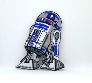 STAR WARS Movies Iron or Sew on Embroidered Patches - R2D2