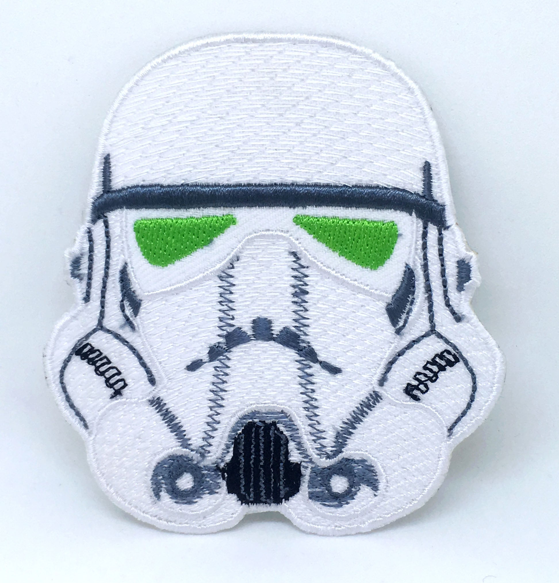 STAR WARS Movies Iron or Sew on Embroidered Patches - Imperial Storm Trooper white