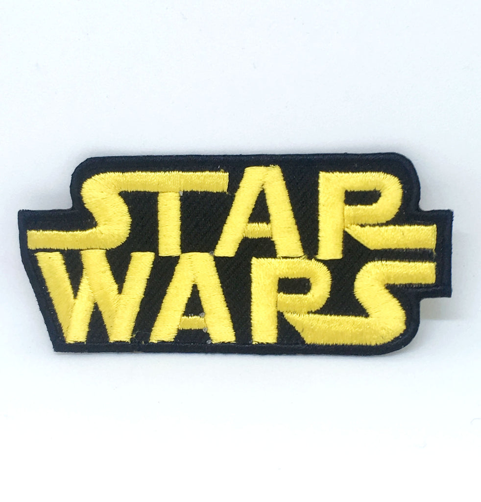 STAR WARS Movies Iron or Sew on Embroidered Patches - STAR WARS CLASSIC LOGO