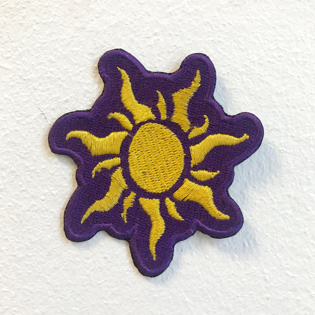 Sun Shinning Dress Clothing Iron on Sew on Embroidered Patch