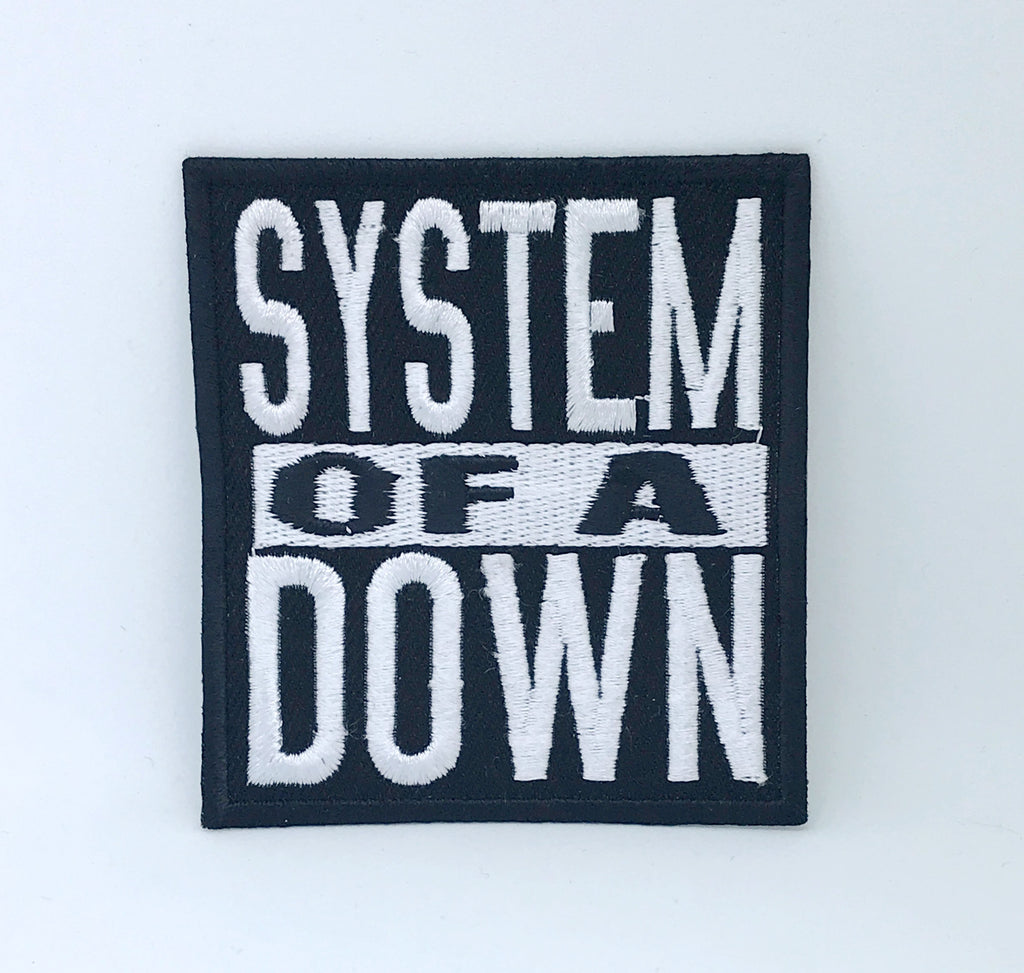 System of a down SOAD Heavy Metal Iron on Sew on Embroidered Patch
