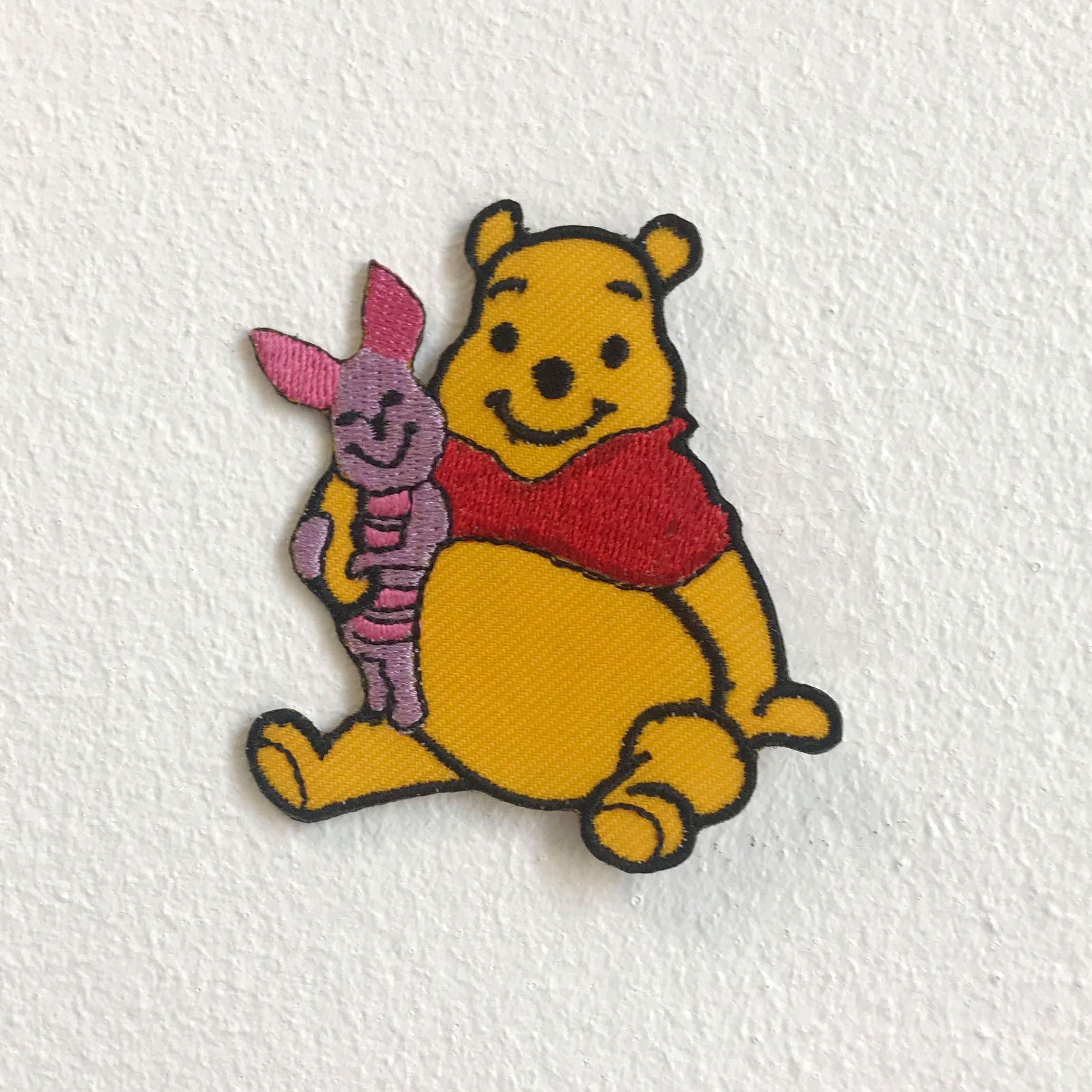 Winnie The pooh bear Iron Sew on Embroidered Patch