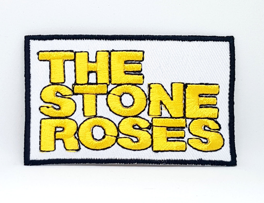 The Stone Roses Iron/Sew On Embroidered Patch