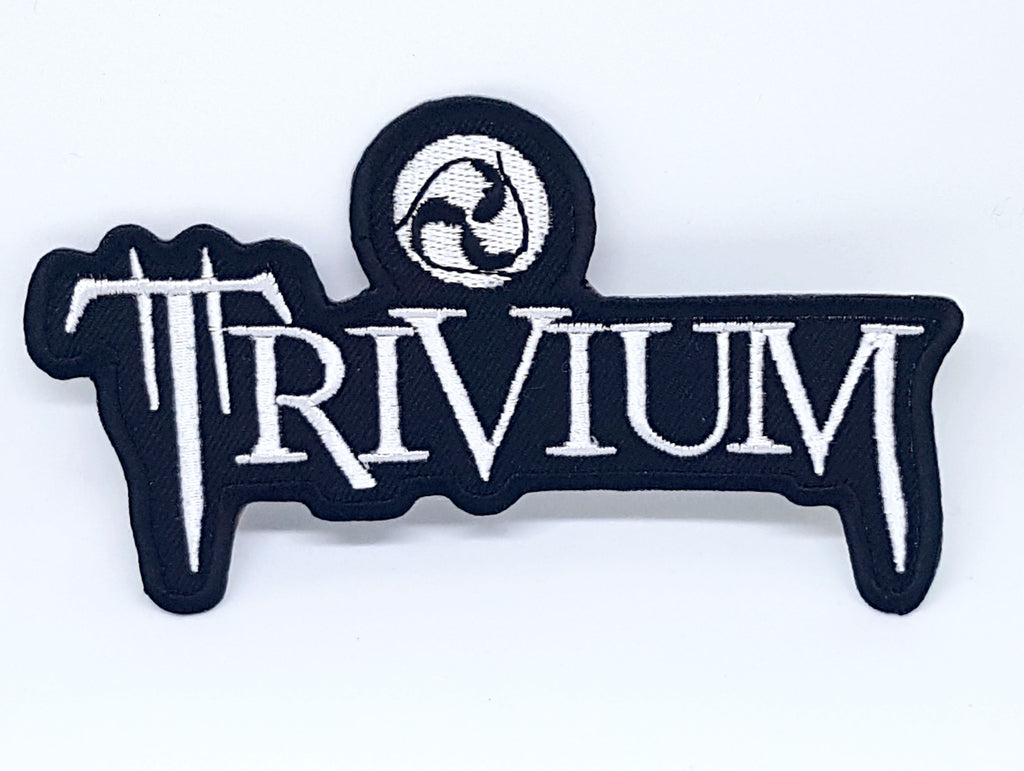 Trivium heavy metal punk rock EMBROIDERED Iron Sew on PATCH