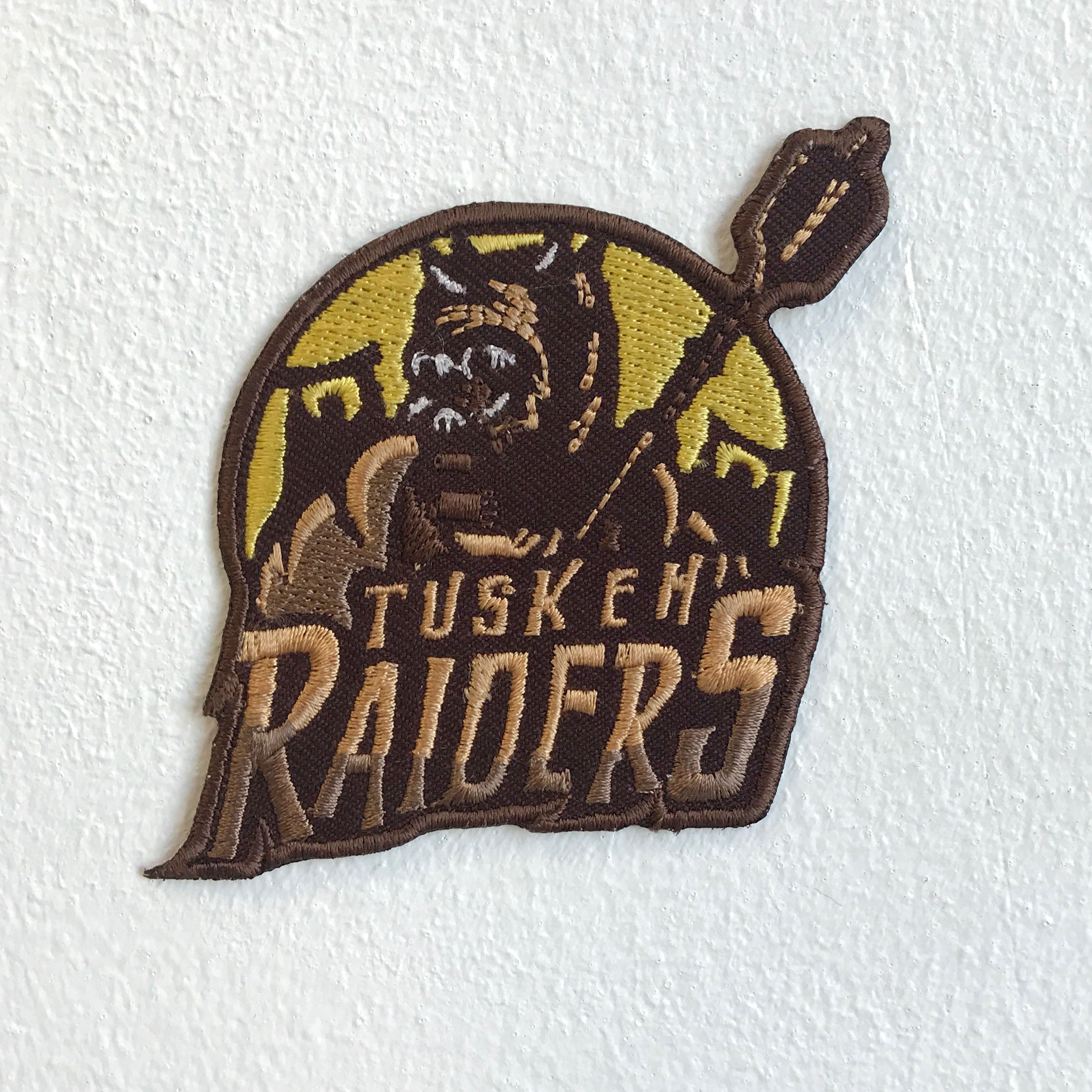 Tusken Raiders special force Iron Sew On Embroidered Patch