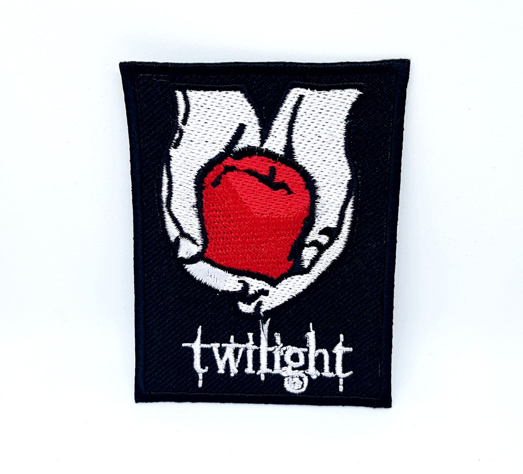Black Vampire Twilight New Moon Blood iron sew on Embroidered Patch - Patches-Badges