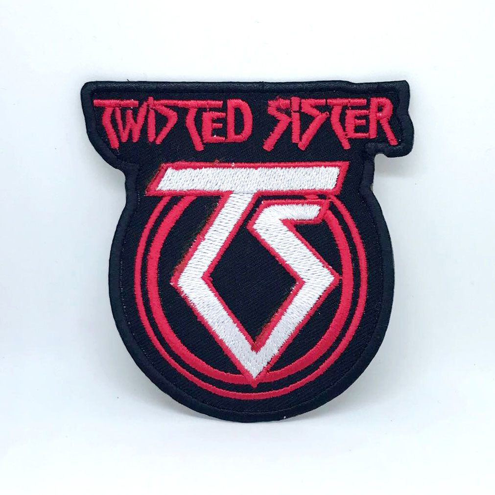 Twisted Sister Heavy Metal Band Iron on Sew on Embroidered Patch