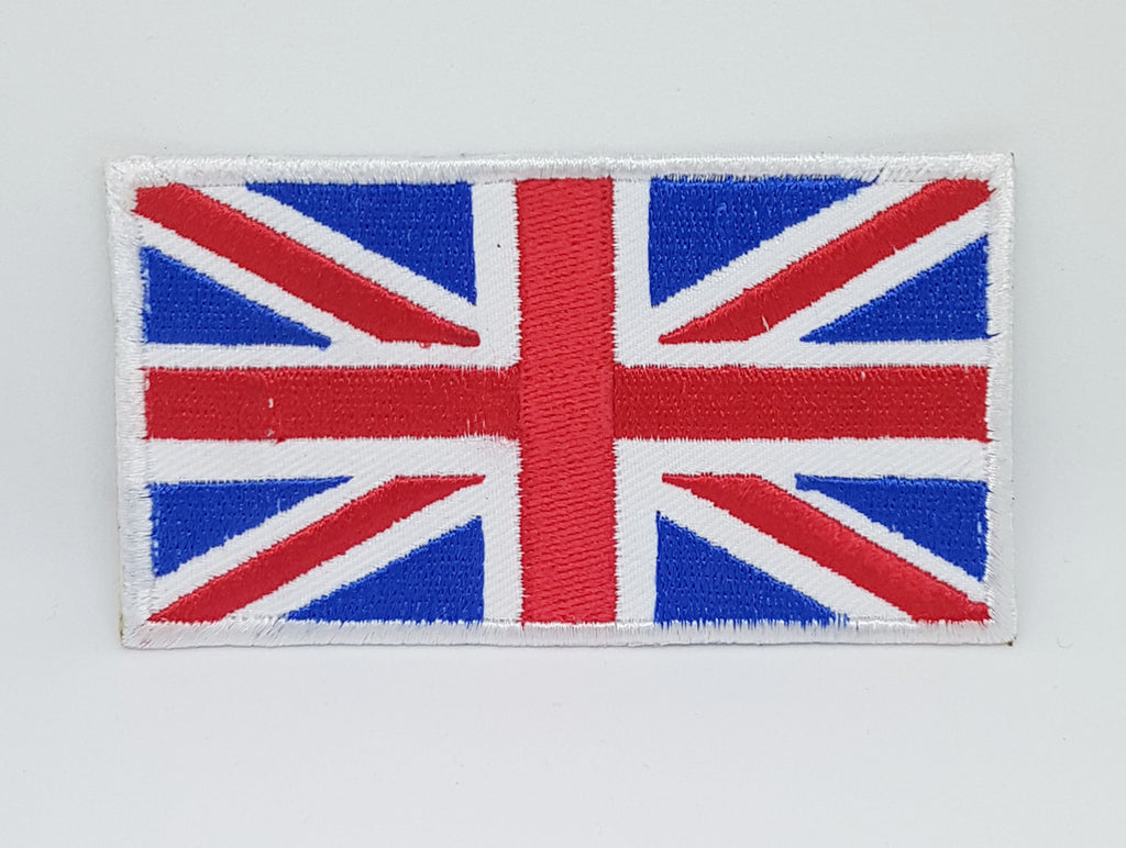 Union Jack Original Flag Embroidered Sew/Iron on Patch/badge
