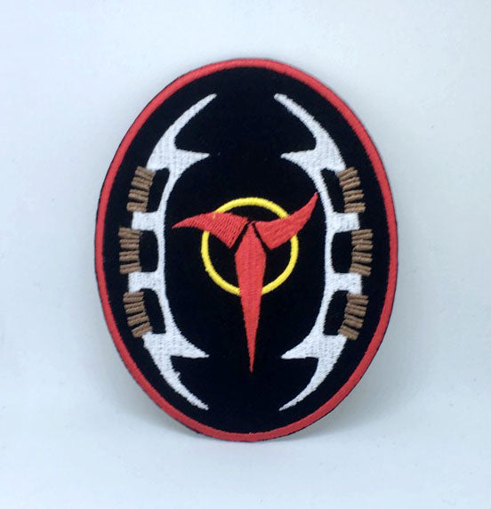 Star Trek Klingons Insignia Badge Iron on Sew on Embroidered Patch