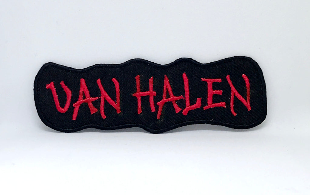 VAN HALEN PUNK ROCK METAL MUSIC SEW IRON ON EMBROIDERED PATCH