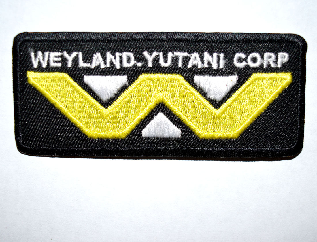 Alien Weyland-Yutani Corp Iron on Sew on Embroidered Patch - Patches-Badges