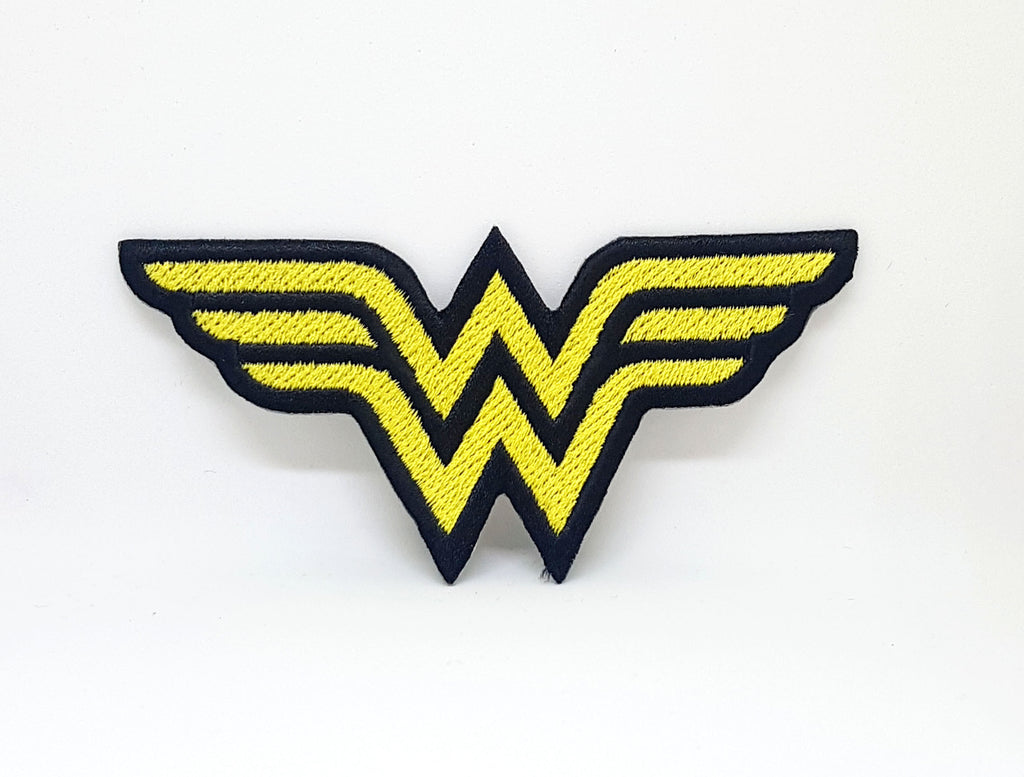 Comic Character Marvel Avengers and DC Comics Iron or Sew on Embroidered Patches - Wonder Woman