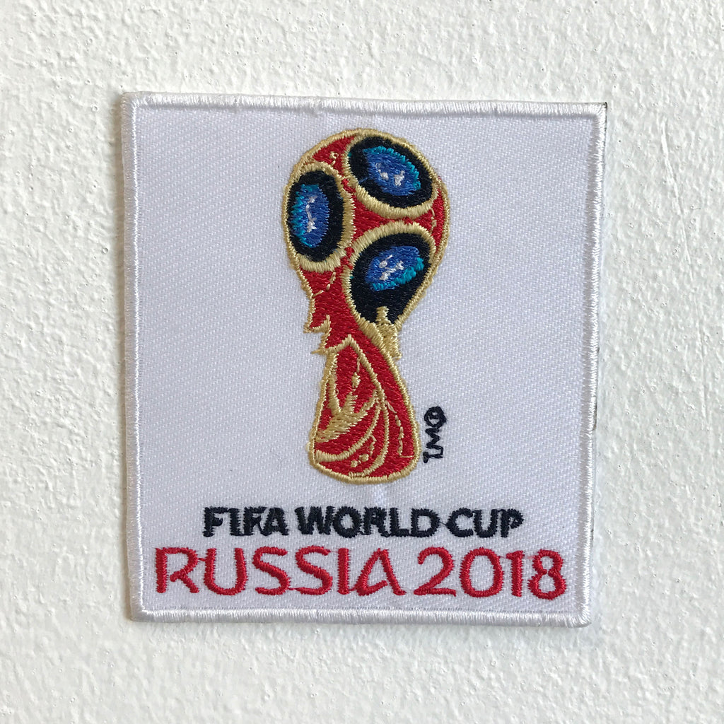 Fifa World Cup Russia 2018 badge Iron Sew on Embroidered Patch