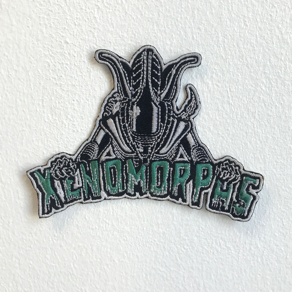Xenomorphs Alien Fictional character Iron Sew on Embroidered Patch