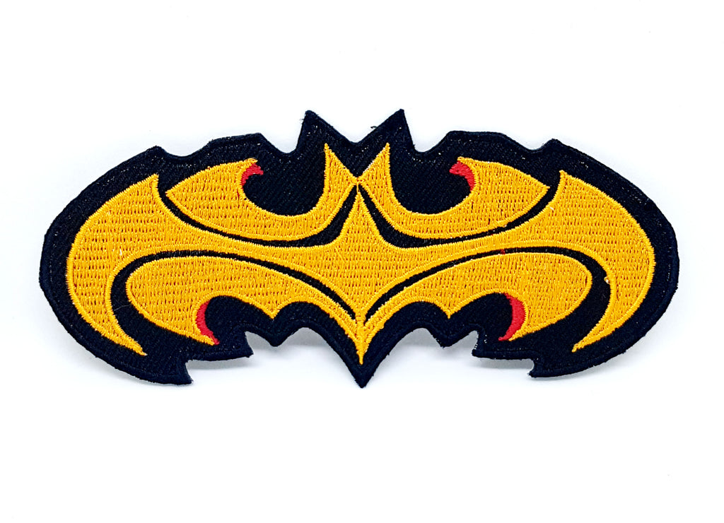 Comic Character Marvel Avengers and DC Comics Iron or Sew on Embroidered Patches - Big Batman Logo