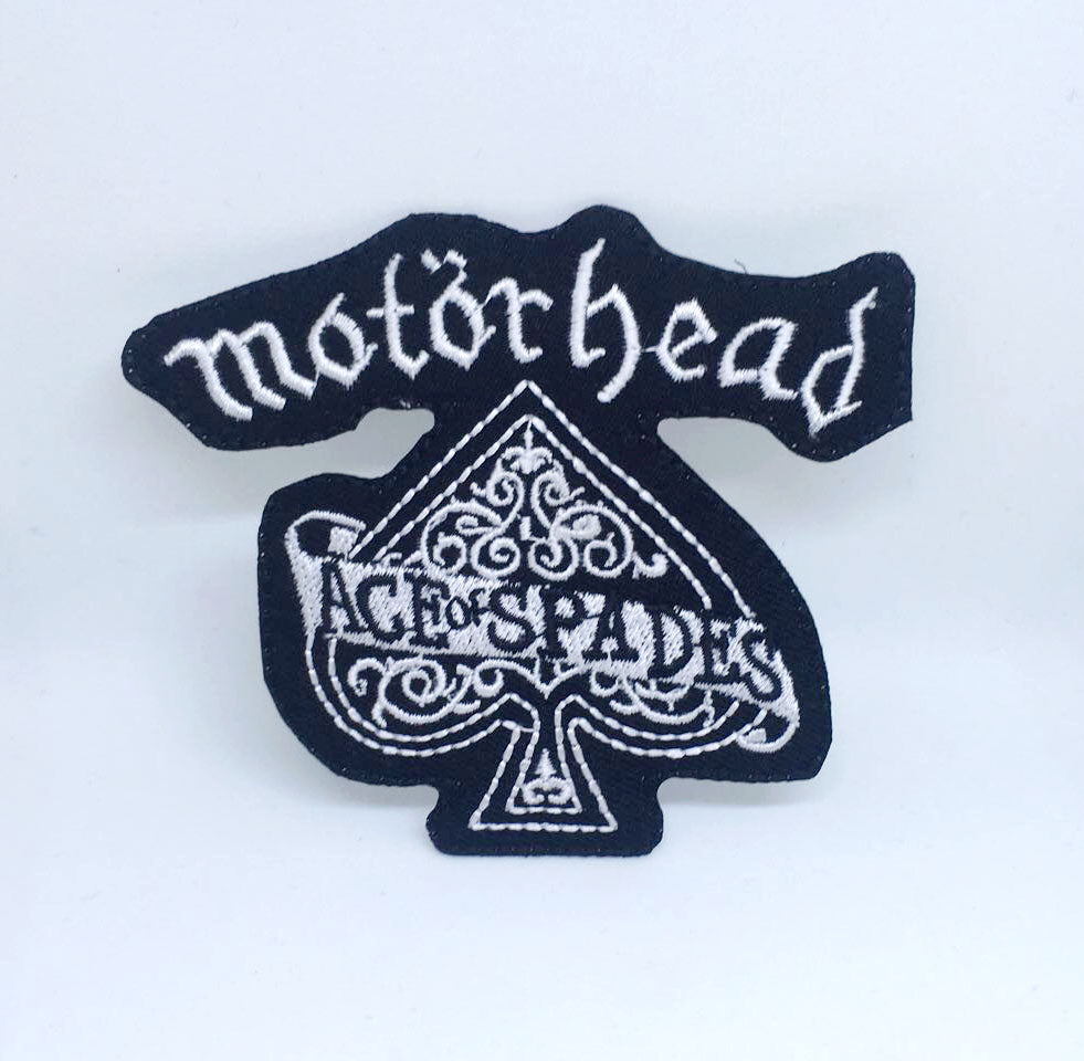Motorhead Band Rock Metal Music Iron/Sew on Embroidered Patch Collection - Ace of Spades