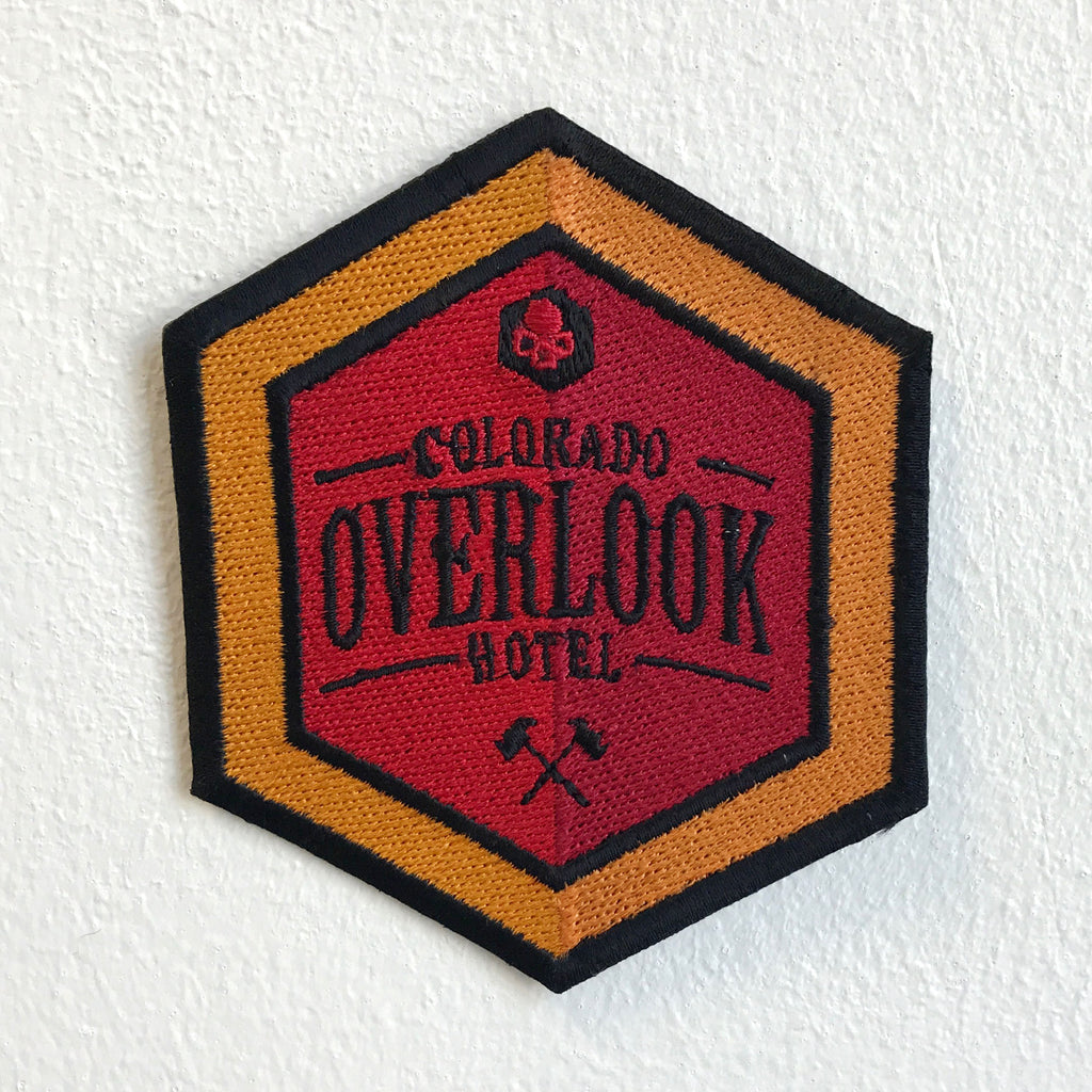 Colorado Overlook Hotel badge Iron Sew on Embroidered Patch