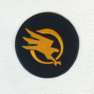 Command and Conquer Eagle Badge logo Iron Sew on Embroidered Patch - Patches-Badges
