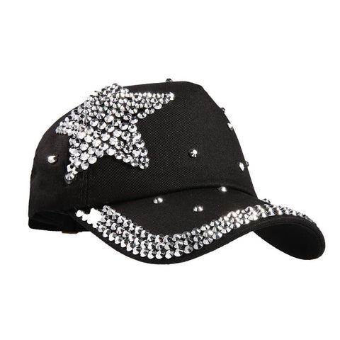 Durable Adjustable Cap Pattern Fashion Breathable Kid's Star Baseball - Patches-Badges
