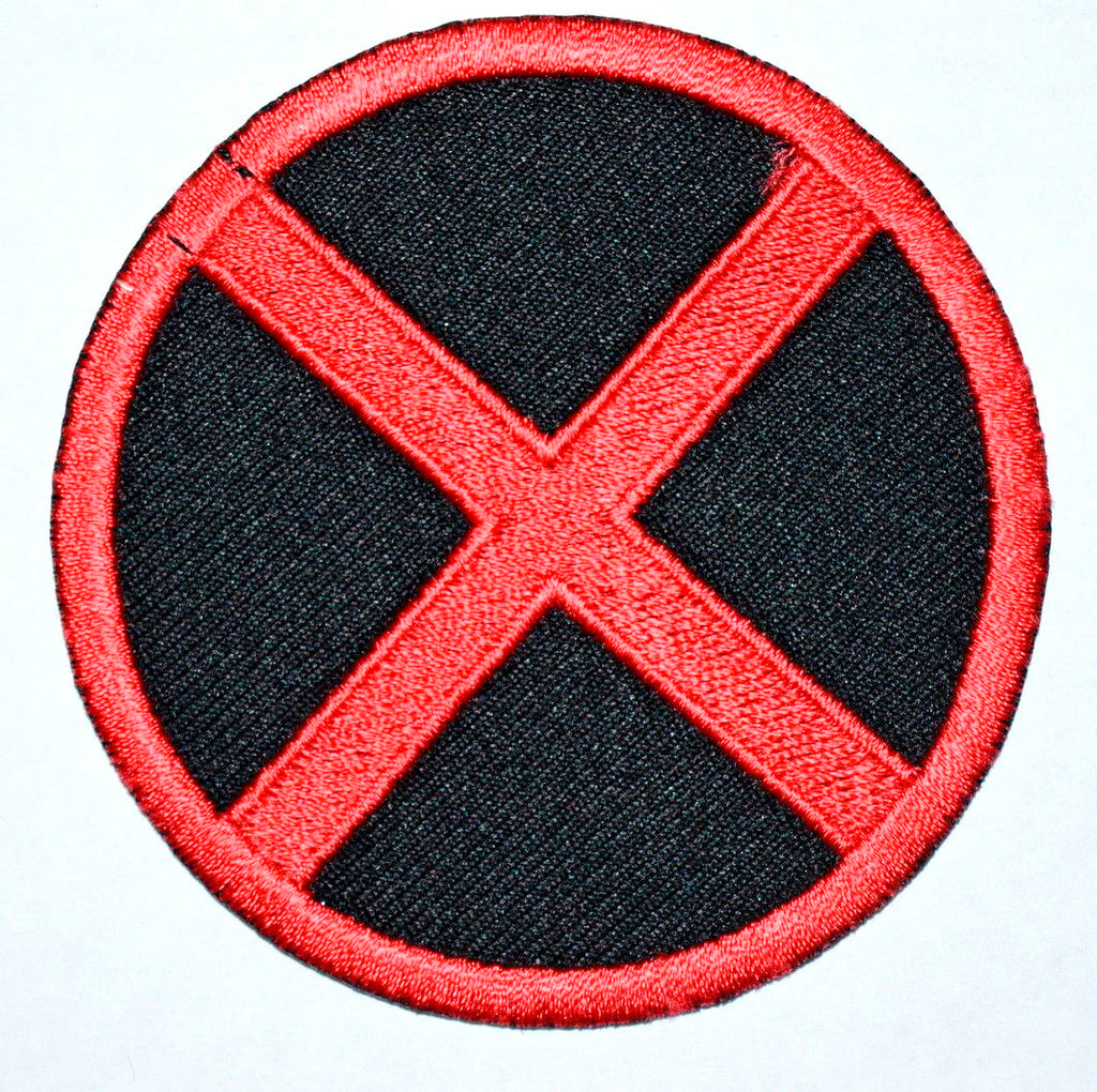 MEN Logo Suit Marvel Comic Movie Iron on Embroidered Patch / Badge/ Logo