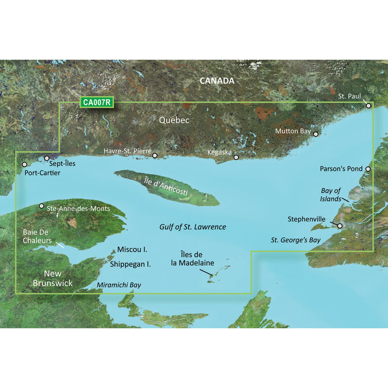 Garmin BlueChart g3 Vision HD - VCA007R - Les Mechins - St. Georges Bay - microSD/SD [010-C0693-00] - Mealey Marine