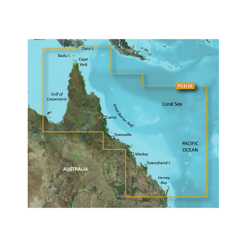 Garmin BlueChart g2 HD - HXPC413S - Mornington Island - Hervey Bay - microSD/SD [010-C0871-20] [Mealey_Marine]