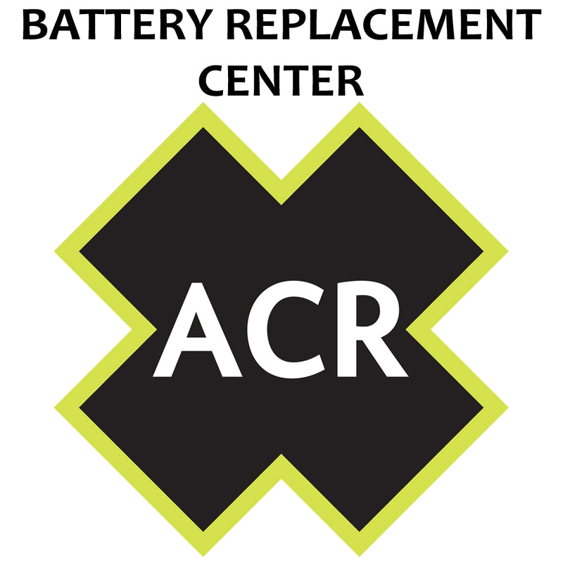 ACR FBRS 2898 Battery Replacement Service - PLB-300 MicroFix [2898.91] [Mealey_Marine]