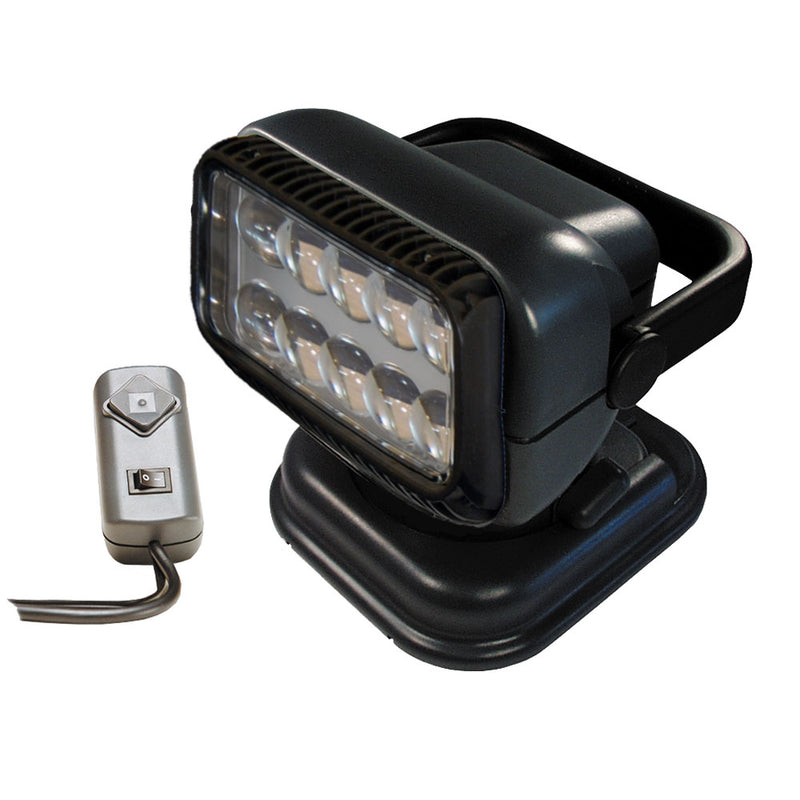 Golight Portable RadioRay LED w/Wired Remote - Grey [51494] [Mealey_Marine]