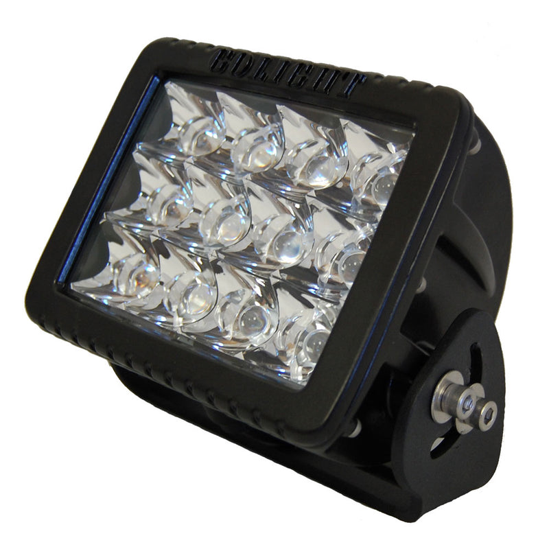 Golight GXL Fixed Mount LED Floodlight - Black [4421] [Mealey_Marine]