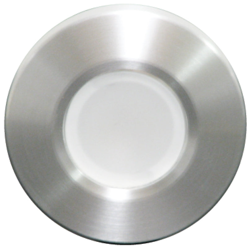 Lumitec Orbit - Flush Mount Down Light - Brushed Finish - White Non-Dimming [112503] [Mealey_Marine]