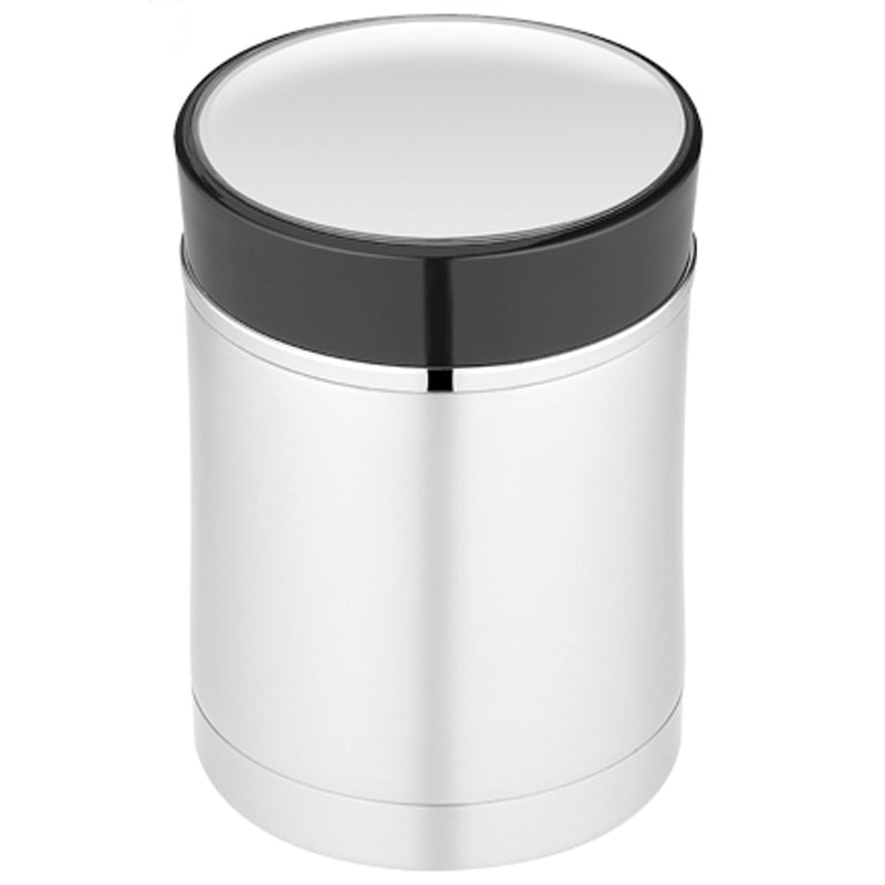 Thermos Sipp Vacuum Insulated Food Jar - 16 oz. - Stainless Steel/Black [NS340BK004] [Mealey_Marine]
