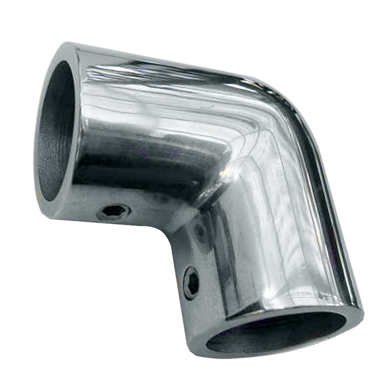 "Whitecap 1"" O.D. 90 Degree SS Elbow [6176C] [Mealey_Marine]"