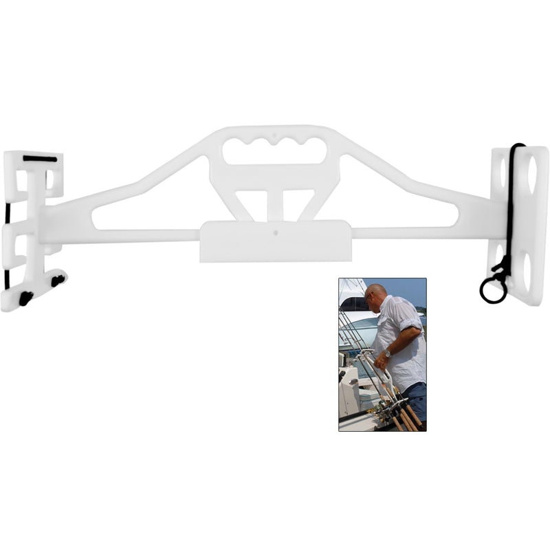 TACO Rod & Reel Tote 'Em Rack w/Wall Mount [P03-144W] [Mealey_Marine]
