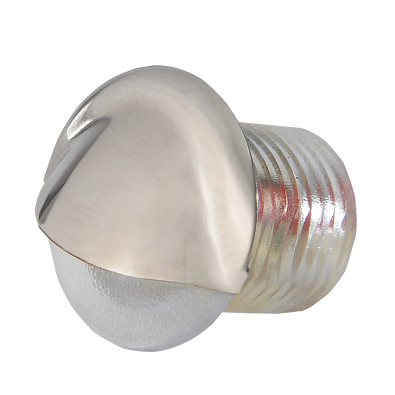 Lumitec Aruba - Courtesy Light - Polished SS Finish - Red Non-Dimming [101146] [Mealey_Marine]