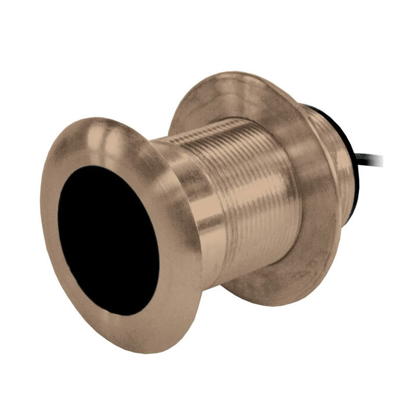 Garmin B619 12 Degree Bronze Thru Hull Transducer - 8-Pin [010-10217-21] [Mealey_Marine]