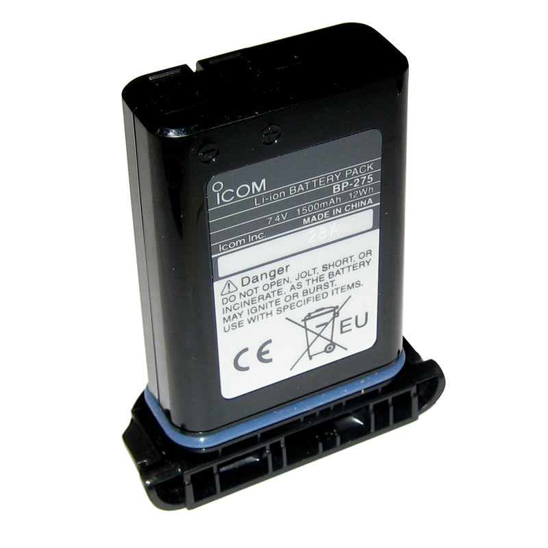 Icom BP275 Li-Ion Battery f/M92D [BP275] [Mealey_Marine]