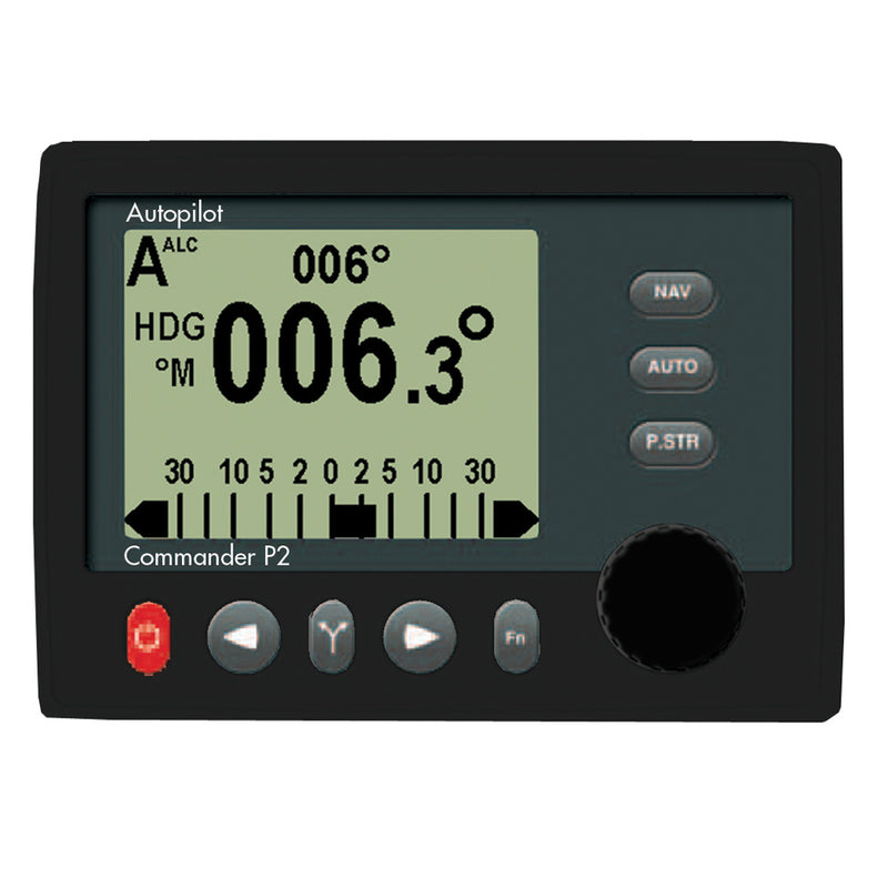 ComNav Commander P2 - Mono Display, Fluxgate Compass & Rotary Feedback Autopilot [10110001] - Mealey Marine