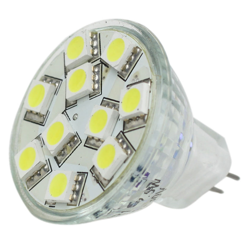 Lunasea MR11 LED Bulb - 10-30VDC/2.2W/140 Lumens - Warm White [LLB-11TW-61-00] [Mealey_Marine]