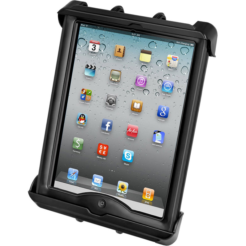 RAM Mount Tab-Lock Universal Locking Cradle f/Apple iPad w/LifeProof & Lifedge Cases [RAM-HOL-TABL17U] - Mealey Marine