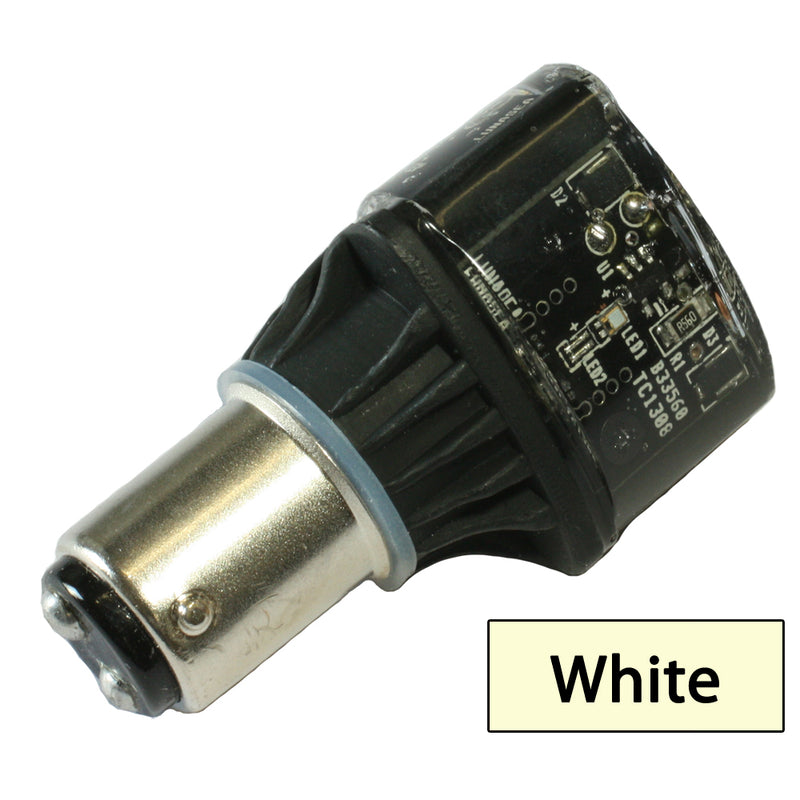 Lunasea Single-Color LED Replacement Bulb - 10-30VDC - White [LLB-28NW-24-SY] [Mealey_Marine]