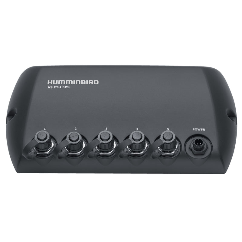 Humminbird AS ETH 5PXG 5 Port Ethernet Switch [408450-1] [Mealey_Marine]