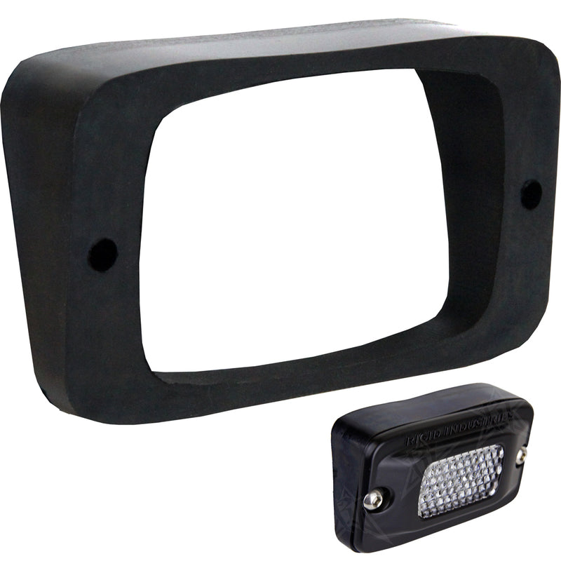 RIGID Industries SR-M Series Angled Flush Mount - Up/Down [49001] [Mealey_Marine]