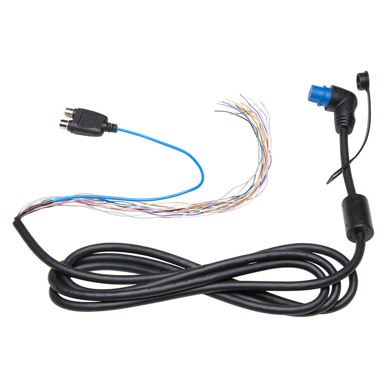 Garmin Right Angle NMEA 0183 w/Audio Cable - 7' [010-12390-21] [Mealey_Marine]