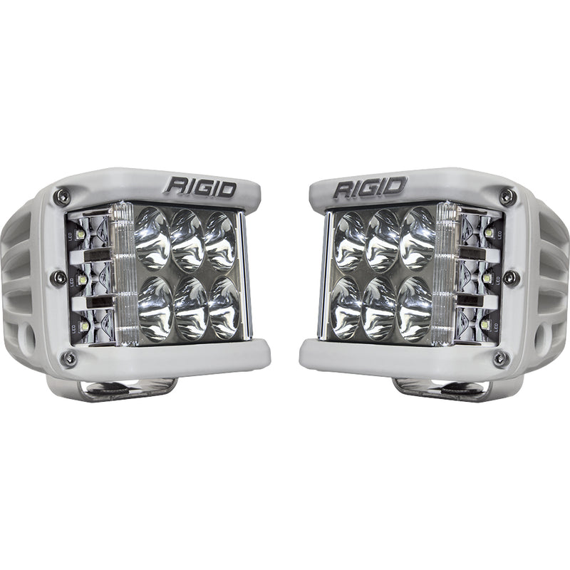 RIGID Industries D-SS Series PRO Driving LED Surface Mount - Pair - White [862313] - Mealey Marine