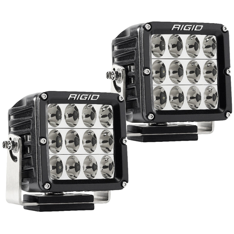 RIGID Industries D-XL PRO - Specter-Driving LED - Pair - Black [322613] [Mealey_Marine]