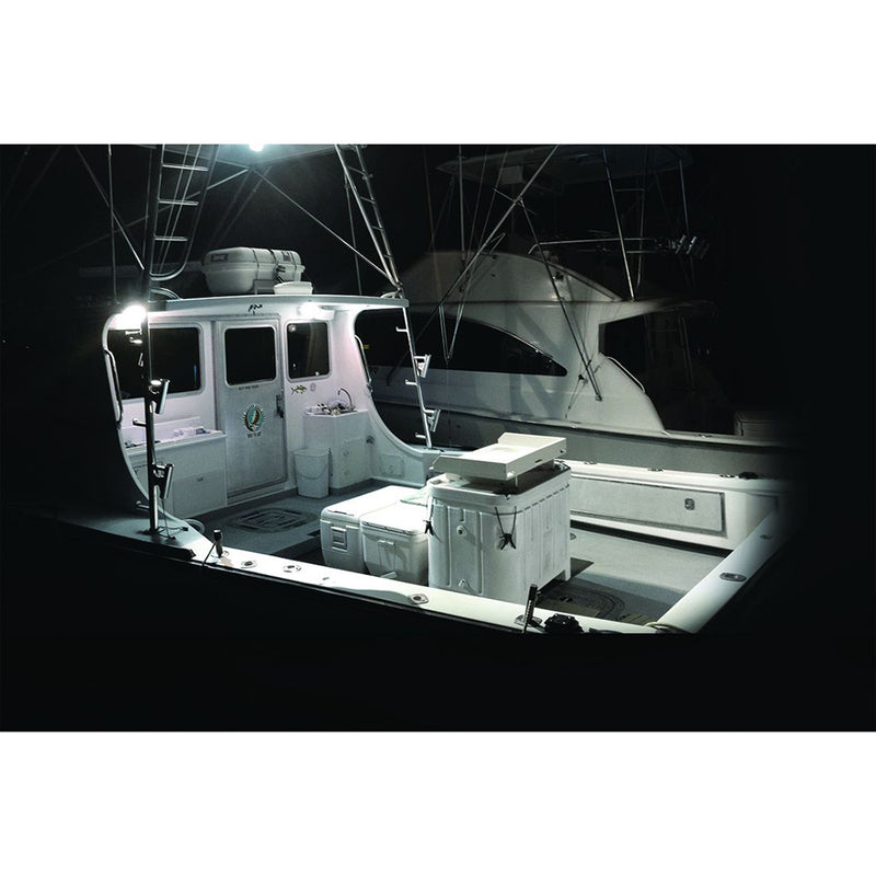 RIGID Industries SR-M Series PRO Hybrid-Spot LED - Surface Mount - White [942213] - Mealey Marine