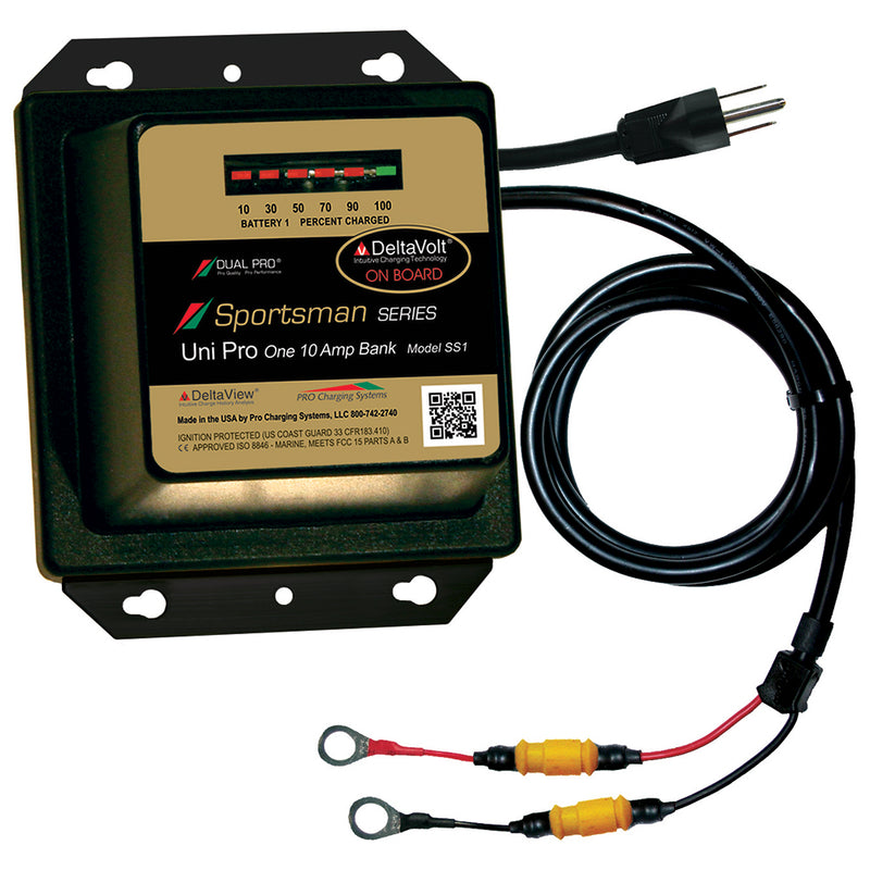 Dual Pro Sportsman Series Battery Charger - 10A - 1-Bank - 12V [SS1] - Mealey Marine