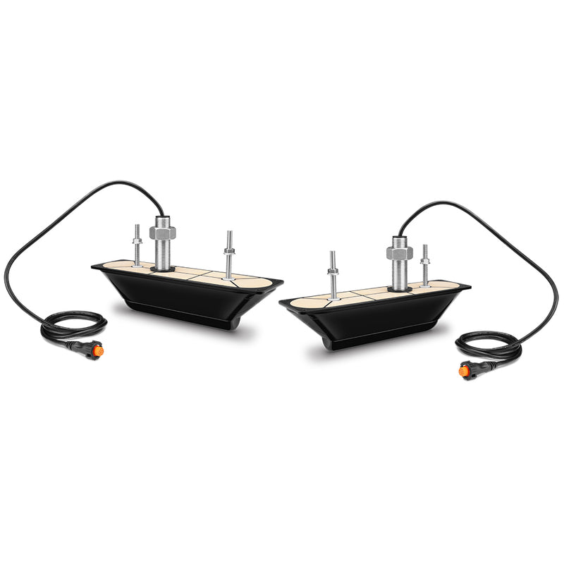 Garmin GT34UHD-THP Ultra HD Thru-Hull Transducer - Pair [010-12776-11] [Mealey_Marine]